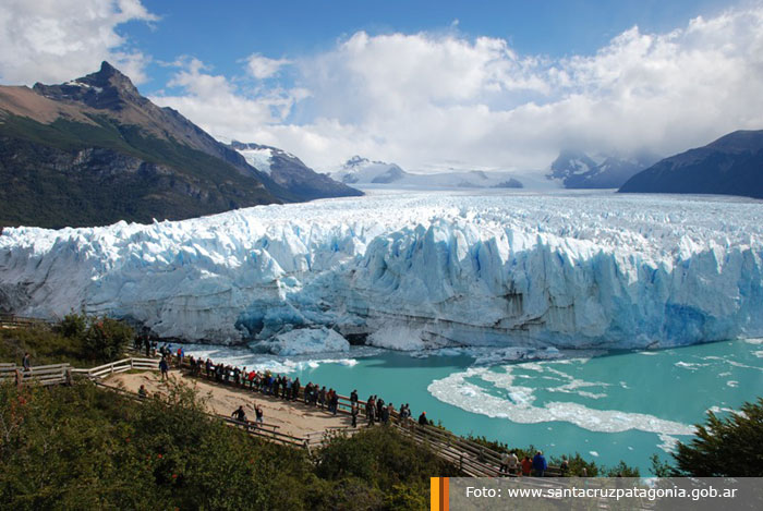 lago argentino how to get to from el calafate